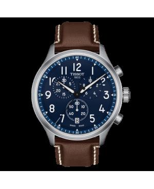 Szwajcarski sportowy zegarek męski TISSOT Chrono XL Vintage T116.617.16.042.00 (T1166171604200)