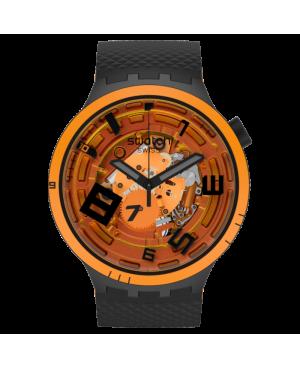 Szwajcarski modowy zegarek damski SWATCH BIG BOLD PLANETS OOPS! SB01B127