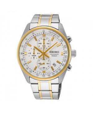Sportowy zegarek męski Seiko Chronograph SSB380P1