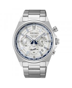 Sportowy zegarek męski SEIKO Chronograph SSB395P1