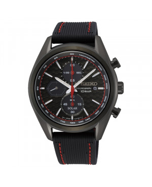 Sportowy zegarek męski SEIKO Chronograph Solar SSC777P1
