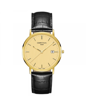 Szwajcarski elegancki zegarek męski CERTINA PRISKA C901.410.16.021.00 (C9014101602100)