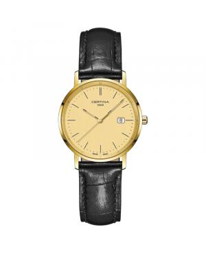 Szwajcarski elegancki zegarek damski CERTINA PRISKA C901.210.16.021.00 (C9012101602100)