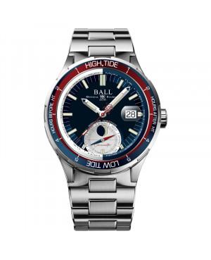 Szwajcarski, sportowy zegarek męski BALL Roadmaster Ocean Explorer Limited Edition DM3120C-SCJ-BE