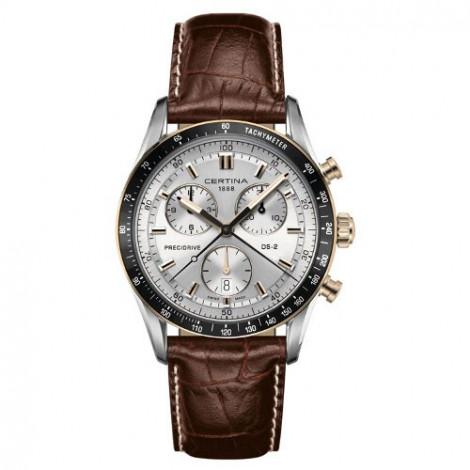 Szwajcarski, sportowy zegarek męski Certina DS-2 Chronograph 1/100 sec C024.447.36.031.00 (C0244472603100)