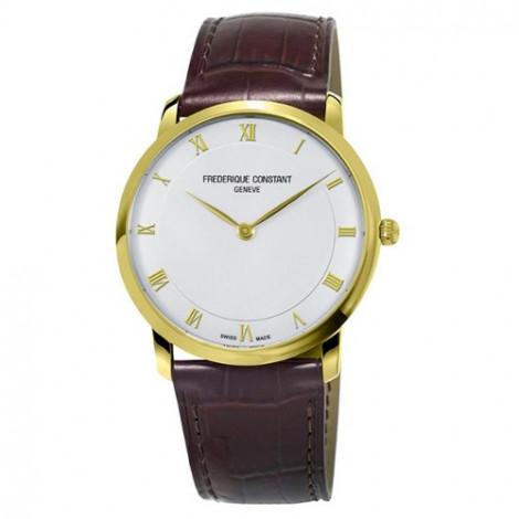 Szwajcarski, klasyczny zegarek męski FREDERIQUE CONSTANT Slimline Gents FC-200RS5S35 (FC200RS5S35)