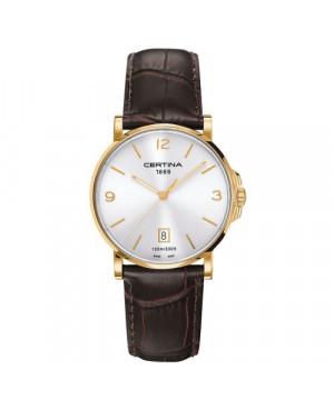 Szwajcarski, klasyczny zegarek męski Certina DS Caimano Gent C017.410.36.037.00 (C0174103603700)