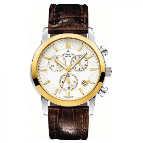 Sportowy zegarek męski Atlantic Sealine 62450.43.21G (624504321G)