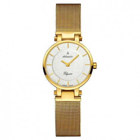 Szwajcarski klasyczny zegarek damski Atlantic Elegance 29035.45.21 (290354521)