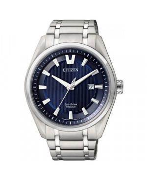 Sportowy zegarek męski Citizen Eco-Drive Titanium AW1240-57L (AW124057L)