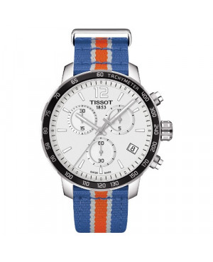 TISSOT T095.417.17.037.06 Quickster Chronograph NBA New York Knicks Special Edition (T0954171703706)