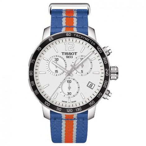 Szwajcarski, sportowy zegarek Tissot Quickster NBA New York Knicks Special Edition T095.417.17.037.06 (T0954171703706)
