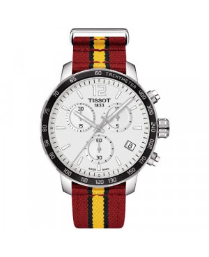 TISSOT T095.417.17.037.08 Quickster Chronograph NBA Miami Heat Special Edition (T0954171703708)