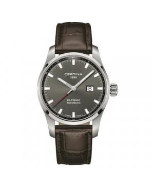 Szwajcarski, klasyczny zegarek męski Certina DS Prince Automatic C008.426.16.081.00 (C0084261608100)