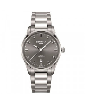 Szwajcarski, klasyczny zegarek męski Certina DS-2 Gent C024.410.11.081.20 (C0244101108120)