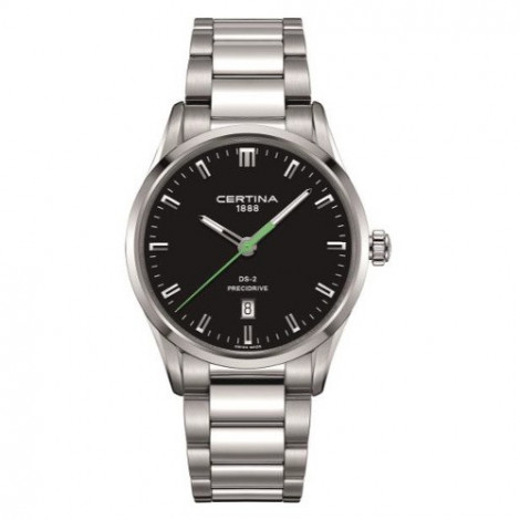 Szwajcarski, klasyczny zegarek męski Certina DS-2 Gent C024.410.11.051.20 (C0244101105120)