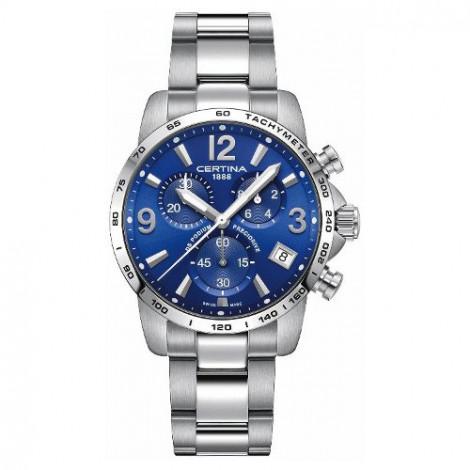 Szwajcarski, sportowy zegarek męski Certina DS Podium Chronograph 1/10 sec C034.417.11.047.00 (C0344171104700)