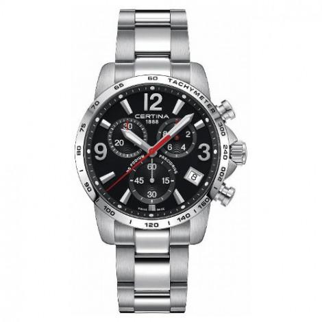 Szwajcarski, sportowy zegarek męski Certina DS Podium Chronograph 1/10 sec C034.417.11.057.00 (C0344171105700)