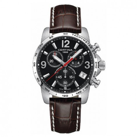 Sportowy zegarek męski Certina DS Podium Chronograph 1/10 sec C034.417.16.057.00 (C0344171605700)
