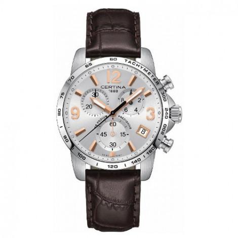 Szwajcarski, sportowy zegarek męski Certina DS Podium Chronograph 1/10 sec C034.417.16.037.01 (C0344171603701)