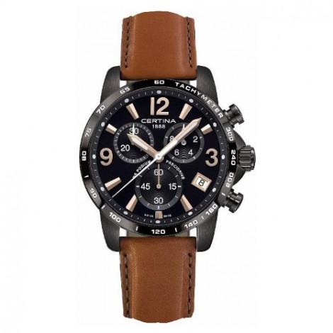Szwajcarski, sportowy zegarek męski Certina DS Podium Chronograph 1/10 sec C034.417.36.057.00 (C0344173605700)