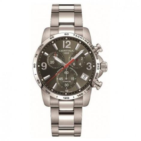 Szwajcarski, sportowy zegarek męski Certina DS Podium Chronograph 1/10 sec C034.417.44.087.00 (C0344174408700)