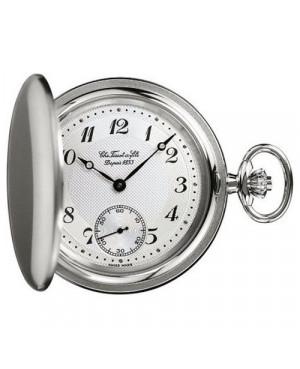 Szwajcarski, klasyczny zegarek męski Tissot Savonnettes Mechanicals T83.7.407.32 (T83740732) kieszonkowy