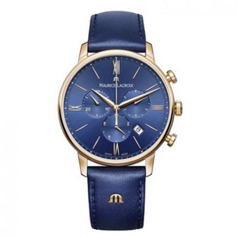 Szwajcarski sportowy zegarek męski MAURICE LACROIX Eliros Chronograph EL1098-PVP01-411 (EL1098PVP01411)