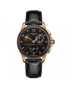 Szwajcarski, sportowy zegarek damski Certina DS Chrono Moon C030.250.36.056.00 (C0302503605600)