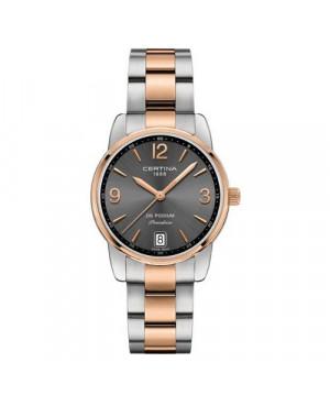Szwajcarski, klasyczny zegarek damski Certina Podium Lady 33mm C034.210.22.087.00 (C0342102208700)