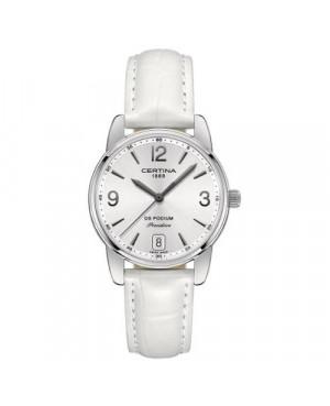 Szwajcarski, klasyczny zegarek damski Certina DS Podium Lady 33 mm C034.210.16.037.00 (C0342101603700)