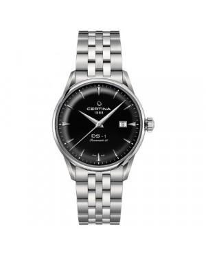 Szwajcarski, klasyczny Zegarek męski Certina DS-1 Powermatic 80 C029.807.11.051.00 (C0298071105100)