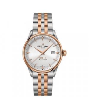 Szwajcarski, klasyczny zegarek męski Certina DS-1 Powermatic 80 C029.807.22.031.00 (C0298072203100)