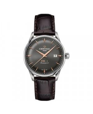 Szwajcarski, klasyczny zegarek męski Certina DS-1 Powermatic 80 C029.807.16.081.01 (C0298071608101)