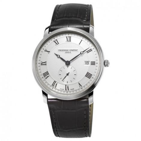 Szwajcarski, klasyczny zegarek męski FREDERIQUE CONSTANT Slimline Gents FC-245M5S6 (FC245M5S6) szkło szafirowe