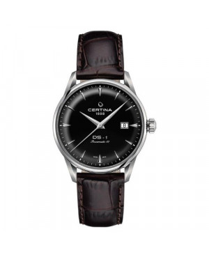 Szwajcarski, klasyczny zegarek męski Certina DS-1 Powermatic 80 C029.807.16.051.00 (C0298071605100)