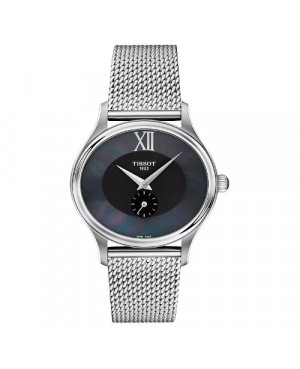 Szwajcarski, elegancki zegarek damski TISSOT BELLA ORA T103.310.11.123.00 (T1033101112300) na bransolecie
