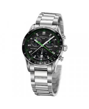 Szwajcarski, sportowy zegarek męski Certina DS-2 Chronograph 1/100 sec C024.447.11.051.02 (C0244471105102)