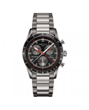 Szwajcarski sportowy zegarek męski Certina DS-2 Chronograph 1/100 sec C024.447.44.051.00 (C0244474405100)