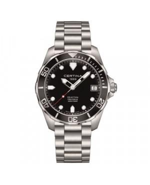 Szwajcarski zegarek męski do nurkowania Certina DS Action Gent C032.410.11.051.00 (C0324101105100)