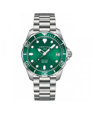Szwajcarski zegarek męski do nurkowania Certina Action C032.410.11.091.00 (C0324101109100)