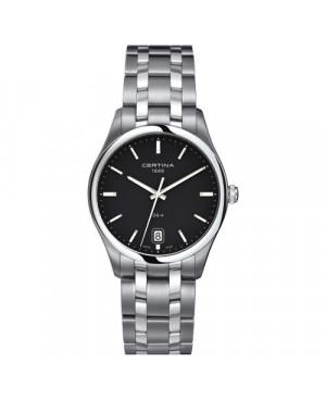Szwajcarski, klasyczny zegarek męski Certina DS-4 Big Size C022.610.11.051.00 (C0226101105100)