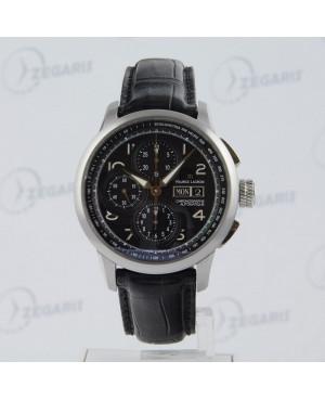 MAURICE LACROIX MP6348SS00132E zegarek z szkłem szafirowym zegarek szwajcarski