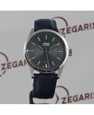 Szwajcarski, klasyczny zegarek męski ORIS Artix Date 01 733 7642 4035 LS-07 5 21 85 FC (0173376424035LS0752185FC)