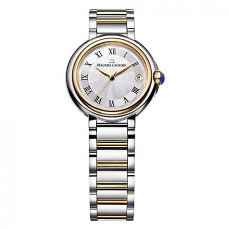 Szwajcarski klasyczny zegarek damski MAURICE LACROIX Fiaba Round FA1004-PVP13-110 (FA1004PVP13110)