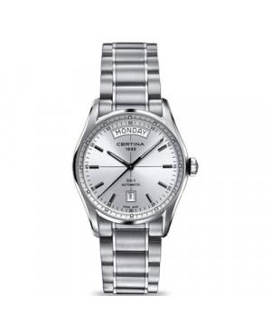 Szwajcarski, klasyczny zegarek męski Certina DS-1 Day-Date C006.430.11.031.00 (C0064301103100)