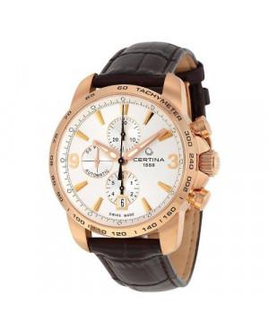 Szwajcarski, sportowy zegarek męski Certina DS Podium Chronograph Automatic C001.427.36.037.00 (C0014273603700)