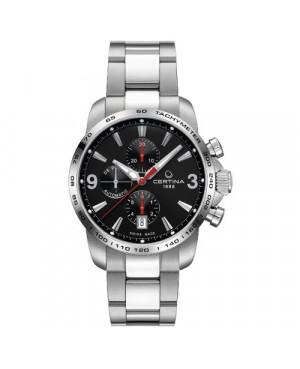 Szwajcarski, sportowy zegarek męski Certina DS Podium Chronograph Automatic C001.427.11.057.00 (C0014271105700)