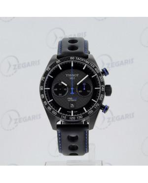 Szwajcarski zegarek męski Tissot PRS 516 Automatic Chronograph T100.427.36.201.00 (T1004273620100) na pasku