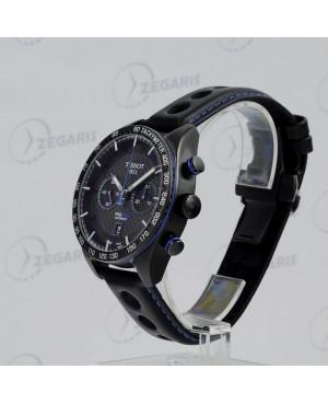 Zegarek męski Tissot PRS 516 Automatic Chronograph T100.427.36.201.00 (T1004273620100) mechanizm automatyczny ze stoperem